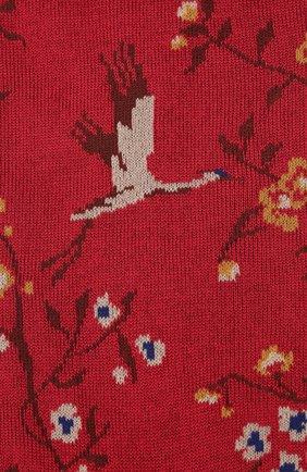 Мужские носки PANTHERELLA красного цвета, арт. 835591 | Фото 2