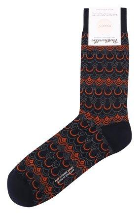 Мужские носки PANTHERELLA темно-синего цвета, арт. 835593 | Фото 1