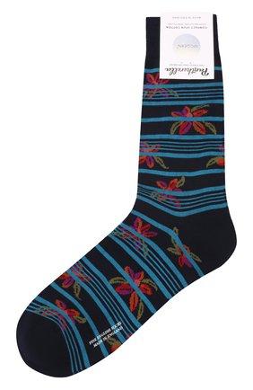 Мужские носки PANTHERELLA темно-синего цвета, арт. 835594 | Фото 1