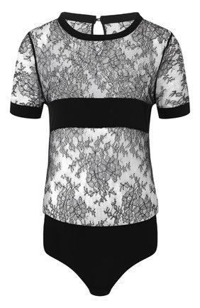 Женское боди CHANTAL THOMASS черного цвета, арт. Т01D30 | Фото 1