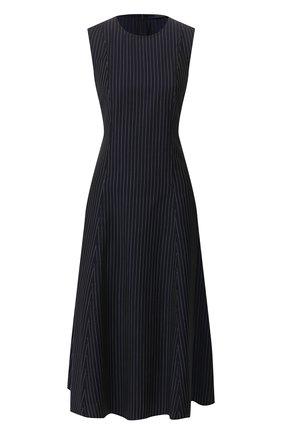 Женское шерстяное платье POLO RALPH LAUREN темно-синего цвета, арт. 211781197 | Фото 1