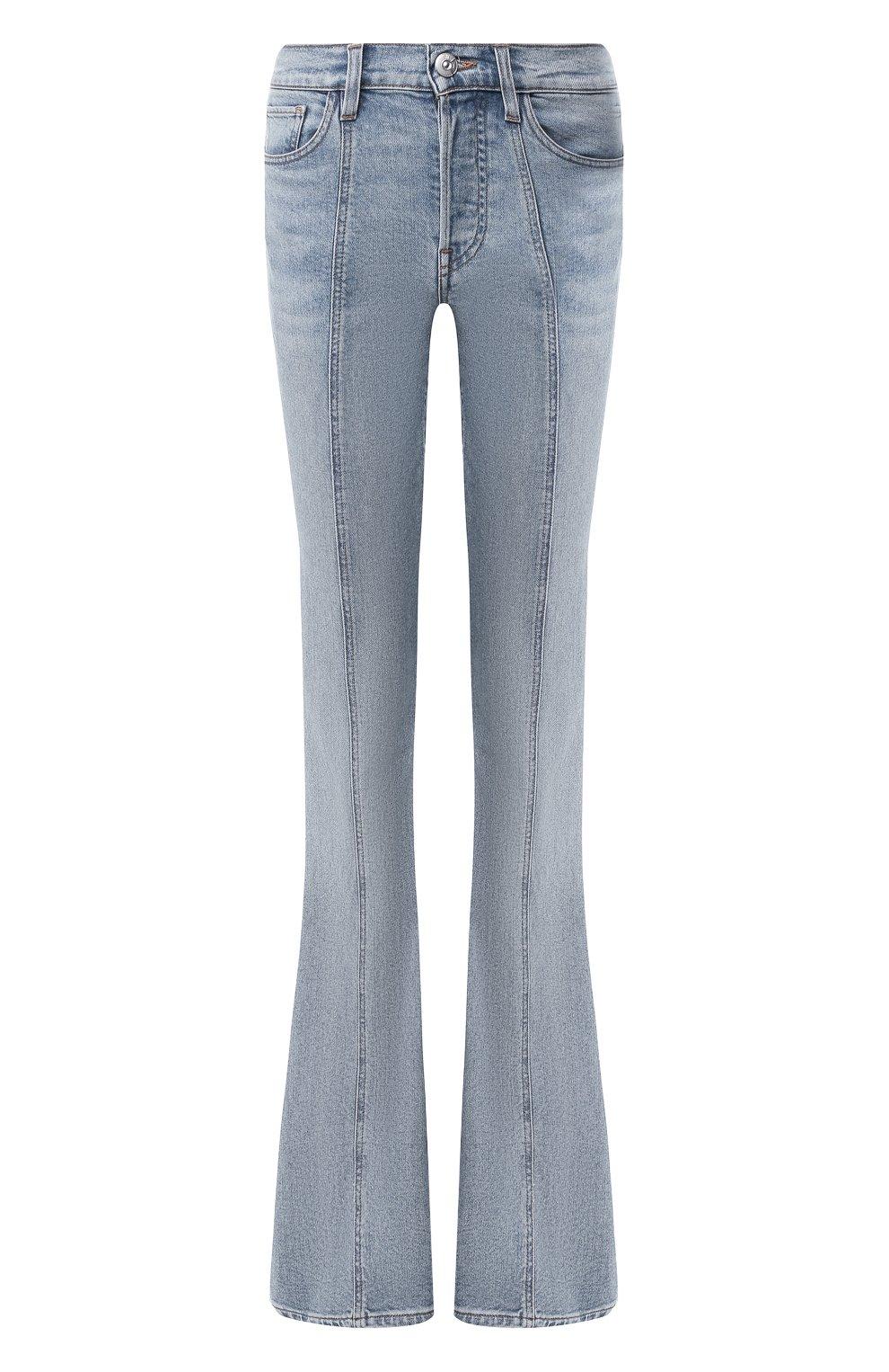 Женские расклешенные джинсы 3X1 синего цвета, арт. WP0210754/CL0UD | Фото 1