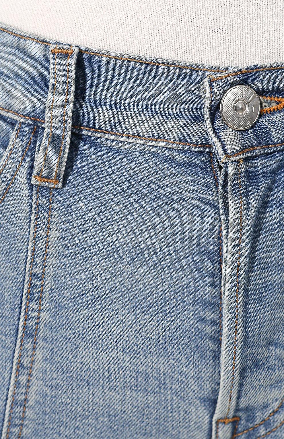 Женские расклешенные джинсы 3X1 синего цвета, арт. WP0210754/CL0UD | Фото 5