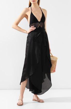 Женские брюки GOTTEX черного цвета, арт. 20BA808 | Фото 2