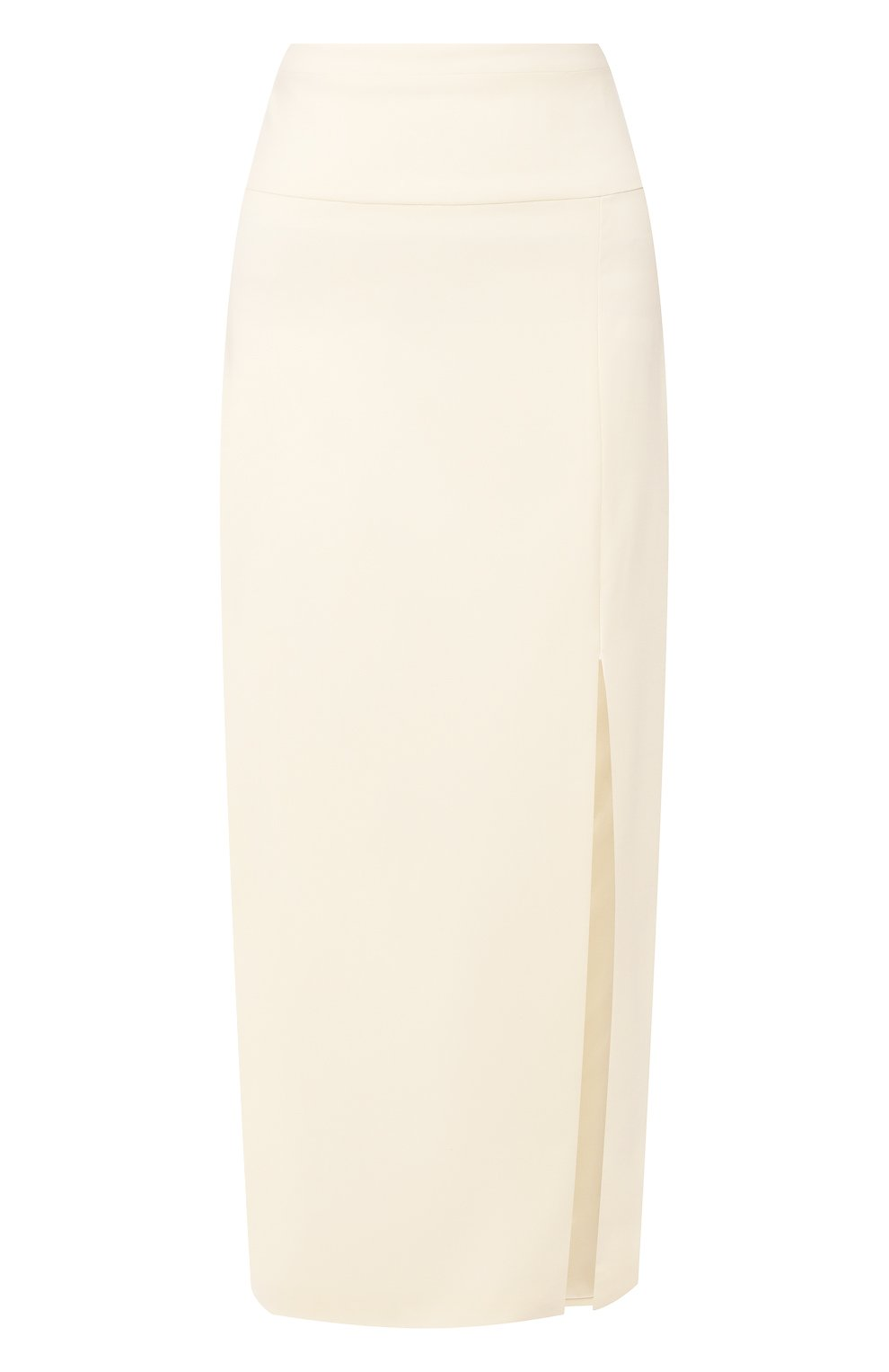Женская шерстяная юбка TEGIN белого цвета, арт. FS2068 | Фото 1