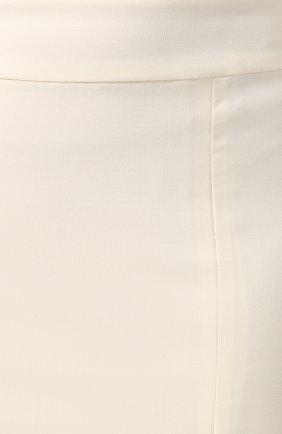 Женская шерстяная юбка TEGIN белого цвета, арт. FS2068 | Фото 5