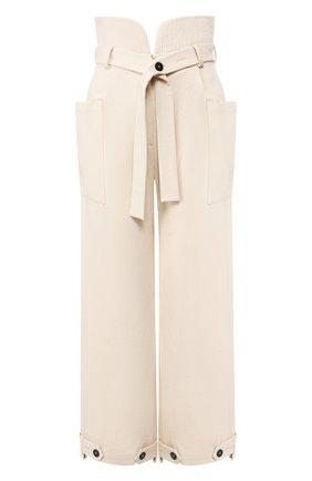 Женские хлопковые брюки RUBAN белого цвета, арт. RРS20 - 7.3.51.10 | Фото 1
