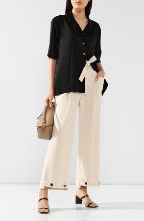 Женские хлопковые брюки RUBAN белого цвета, арт. RРS20 - 7.3.51.10 | Фото 2