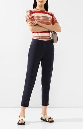 Женские джинсы LORO PIANA темно-синего цвета, арт. FAL0451 | Фото 2