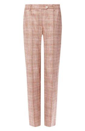 Женские брюки KITON бежевого цвета, арт. D49109K06S58   Фото 1
