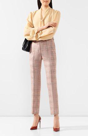 Женские брюки KITON бежевого цвета, арт. D49109K06S58   Фото 2