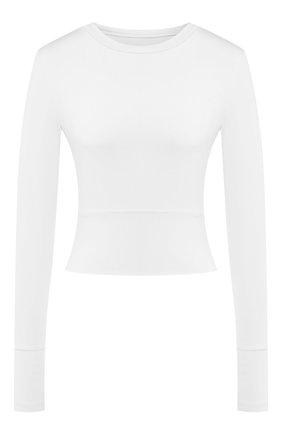 Женская лонгслив HEROINE SPORT белого цвета, арт. HS-2-085/H0LIDAY 2019   Фото 1