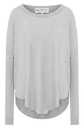 Женская пуловер WILDFOX серого цвета, арт. WHG513000   Фото 1