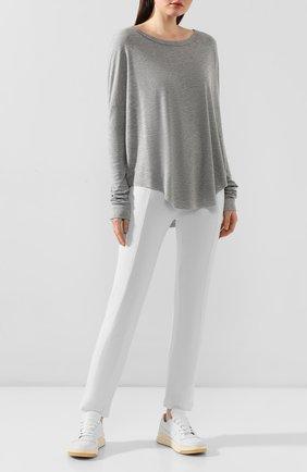 Женская пуловер WILDFOX серого цвета, арт. WHG513000   Фото 2