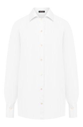 Женская рубашка KITON белого цвета, арт. D48424H07209 | Фото 1