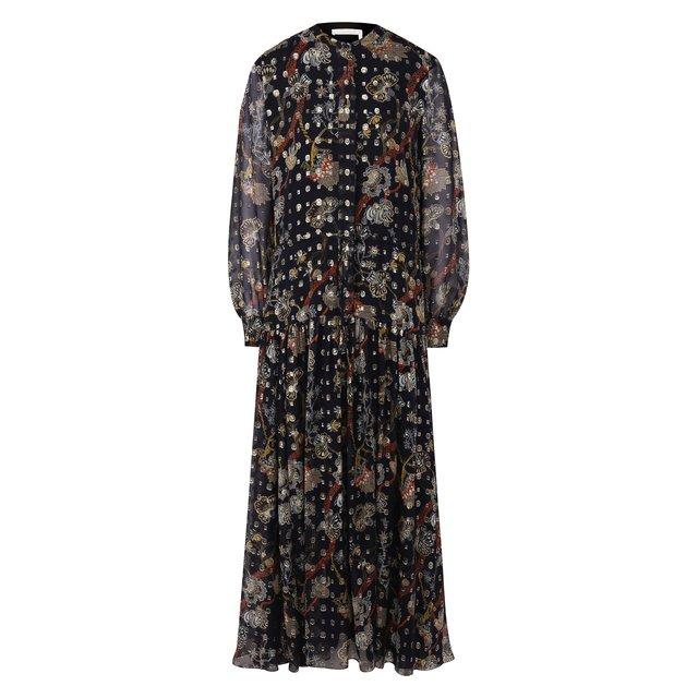 Шелковое платье Chloé Chloe