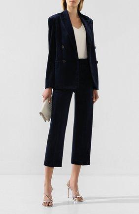 Женские брюки VINCE темно-синего цвета, арт. V632421743 | Фото 2