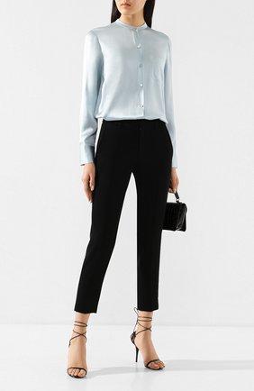 Женские брюки VINCE черного цвета, арт. VR68621640 | Фото 2