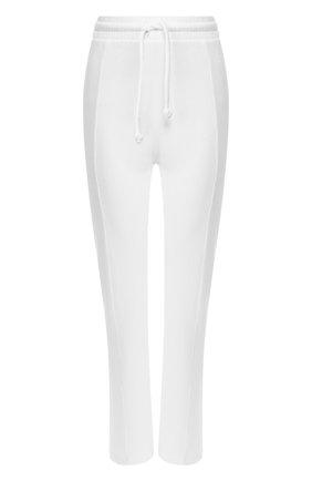 Женские брюки из смеси хлопка и вискозы WILDFOX белого цвета, арт. WFK65A000   Фото 1