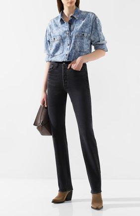 Женские джинсы 3X1 черного цвета, арт. WP0220966/R0CK | Фото 2