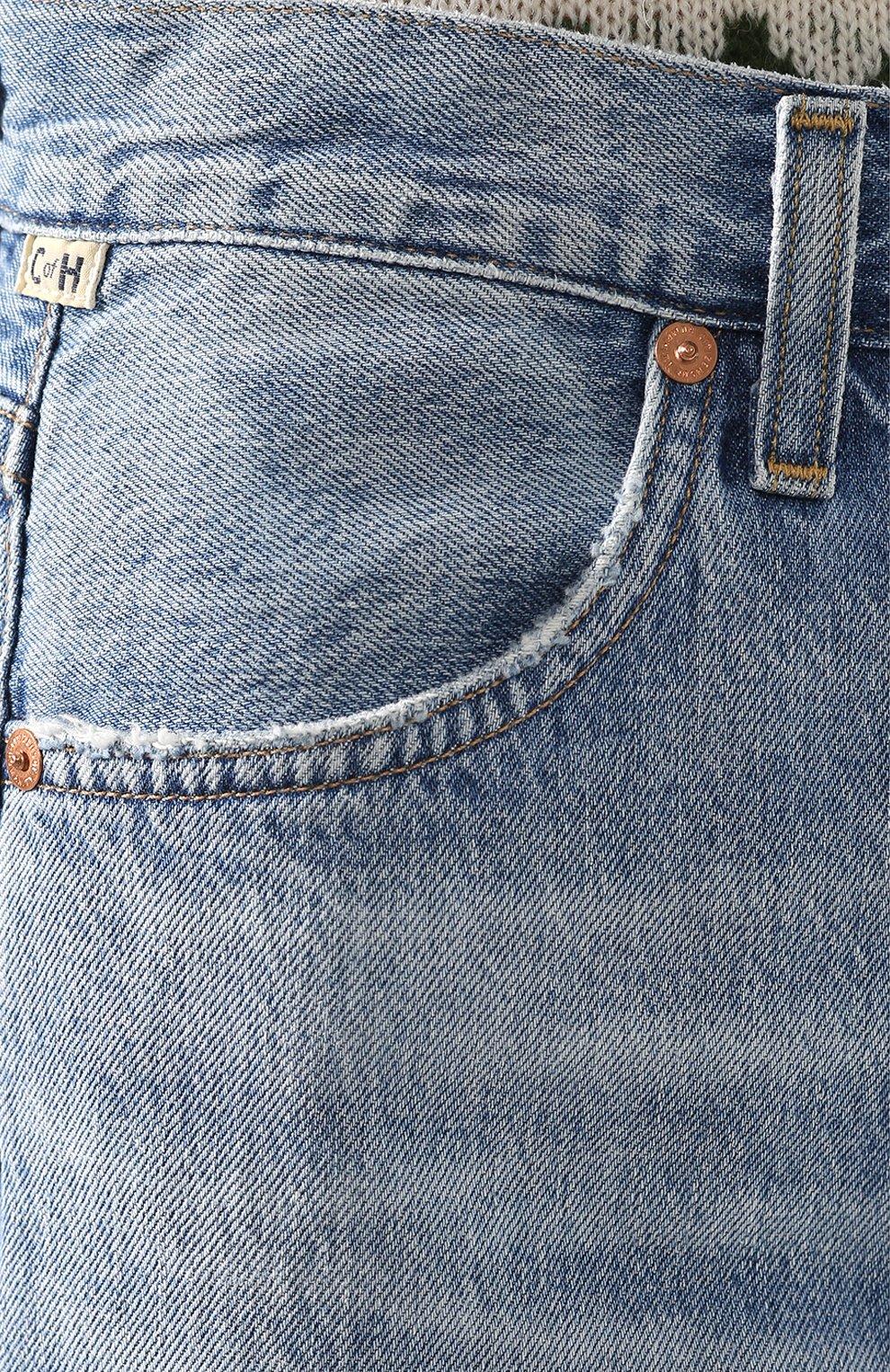 Женские джинсы CITIZENS OF HUMANITY голубого цвета, арт. 1746-1136 | Фото 5