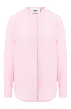 Женская блузка ERIKA CAVALLINI розового цвета, арт. PE/P/P0ST03 | Фото 1