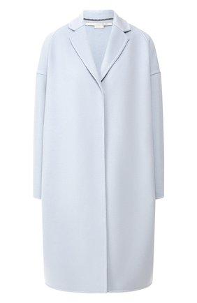Женское шерстяное пальто STELLA MCCARTNEY голубого цвета, арт. 573928/SMB09 | Фото 1