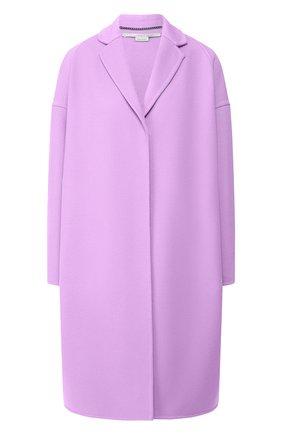Женское шерстяное пальто STELLA MCCARTNEY сиреневого цвета, арт. 573928/SMB09 | Фото 1