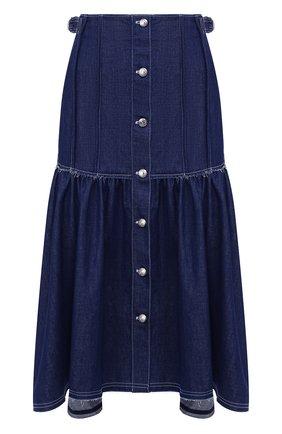 Женская джинсовая юбка CHLOÉ темно-синего цвета, арт. CHC20SDJ01158 | Фото 1