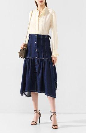 Женская джинсовая юбка CHLOÉ темно-синего цвета, арт. CHC20SDJ01158 | Фото 2