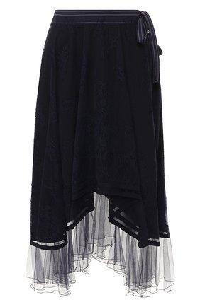 Женская юбка CHLOÉ темно-синего цвета, арт. CHC20SJU03411 | Фото 1