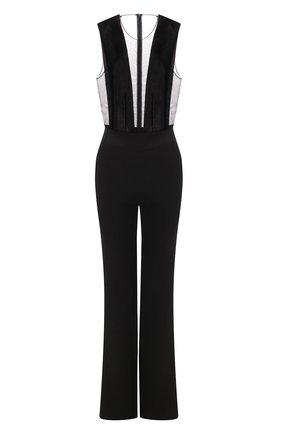Женский комбинезон GALVAN LONDON черного цвета, арт. 313 GWYNETH JUMPSUIT | Фото 1