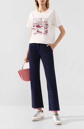 Женские джинсы BY MALENE BIRGER синего цвета, арт. Q68051002/HELIA | Фото 2