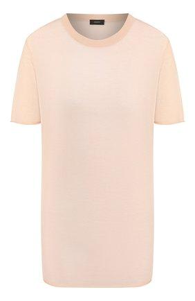 Женская кашемировый топ JOSEPH розового цвета, арт. JF004410 | Фото 1