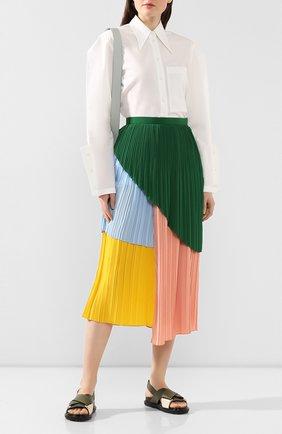 Женская плиссированная юбка AKIRA NAKA разноцветного цвета, арт. AR2033-GRPK | Фото 2