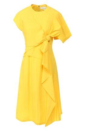 Женское платье AKIRA NAKA желтого цвета, арт. AR2071-YE | Фото 1