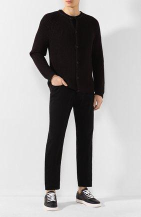 Мужские джинсы GIORGIO ARMANI черного цвета, арт. 3HSJ65/SNF4Z | Фото 2