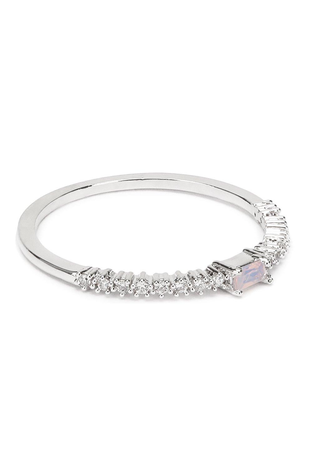 Женское кольцо tiara GIRLS CREW серебряного цвета, арт. R25-S-7 | Фото 1 (Материал: Металл)