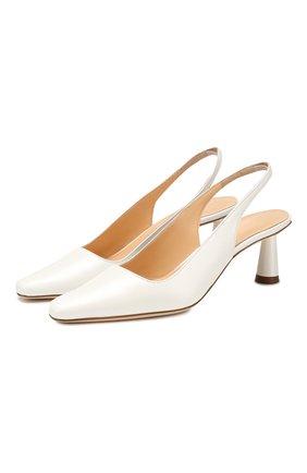 Кожаные туфли Diana | Фото №1