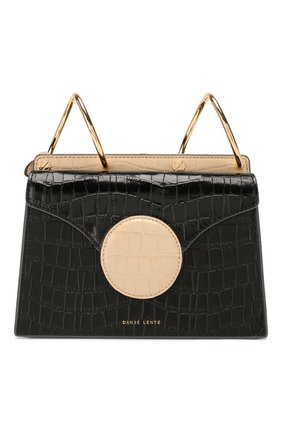 Женская сумка phoebe mini DANSE LENTE черного цвета, арт. MINI PH0EBE/TAN/BLACK | Фото 1
