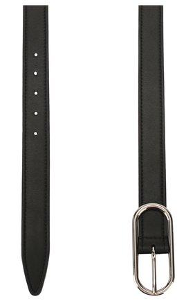 Женский кожаный ремень ACNE STUDIOS черного цвета, арт. A80017/W | Фото 2
