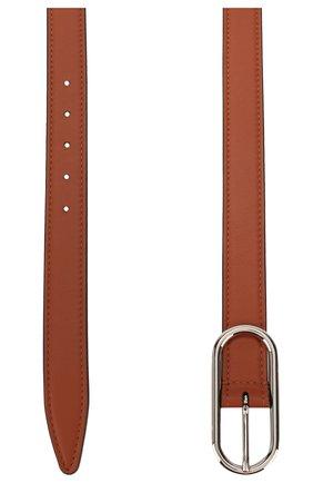 Женский кожаный ремень ACNE STUDIOS коричневого цвета, арт. A80017/W | Фото 2
