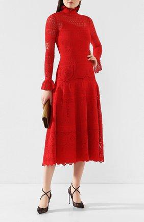 Женская текстильные туфли twista RENE CAOVILLA черного цвета, арт. C10414-100-RP01V050 | Фото 2