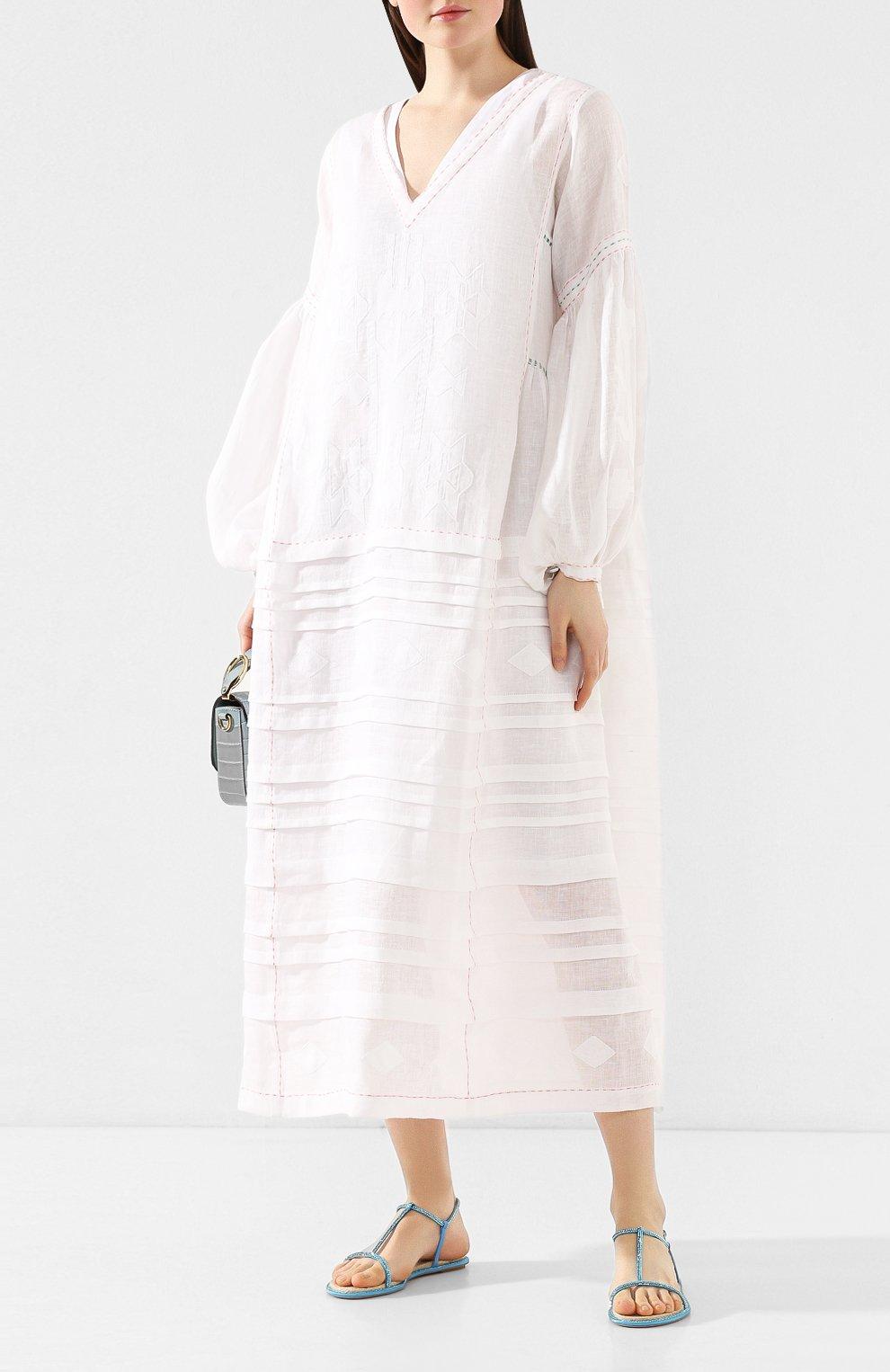 Текстильные сандалии Amalia | Фото №2