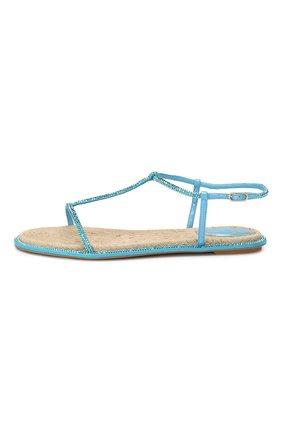 Текстильные сандалии Amalia | Фото №3