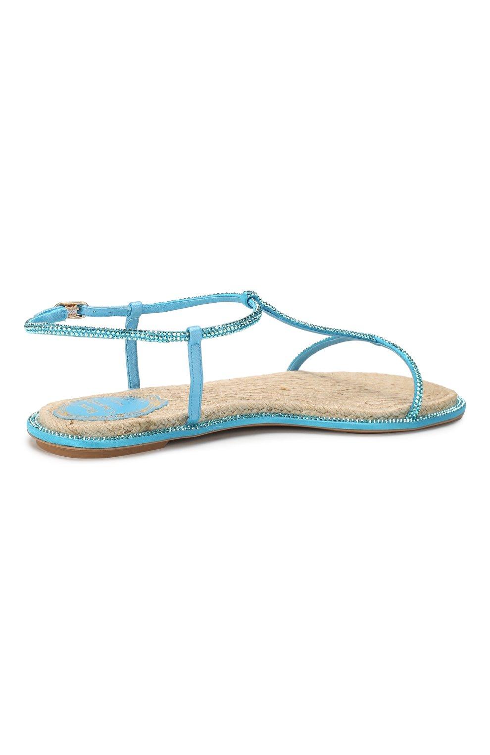 Текстильные сандалии Amalia | Фото №4