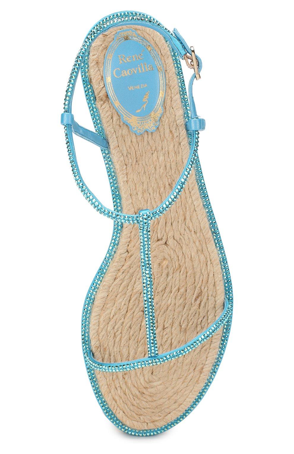 Текстильные сандалии Amalia | Фото №5