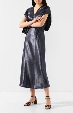 Женские текстильные босоножки RENE CAOVILLA черного цвета, арт. C10526-040-R001V050 | Фото 2