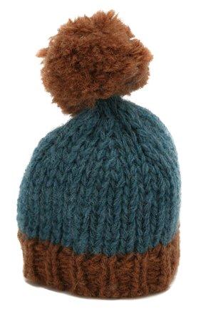 Детского одежда для игрушки вязаная шапка MAILEG коричневого цвета, арт. 16-8949-30 | Фото 1