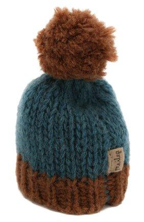 Детского одежда для игрушки вязаная шапка MAILEG коричневого цвета, арт. 16-8949-30 | Фото 2